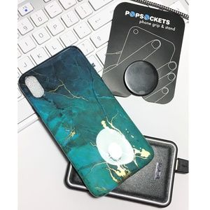 Gviewin Apple iPhone XR Case Marble Pattern